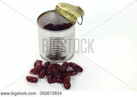 Package Of Pre-cooked Boiled Red Beans. Package Of Pre-cooked Boiled Red Beans.