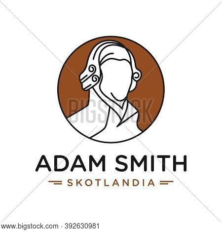 Adam Smith Head Logo Design Or Brand