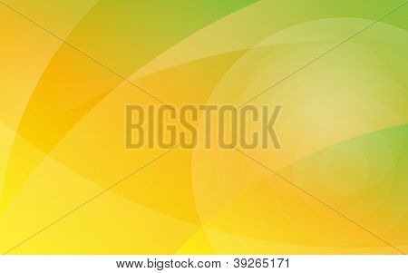 Yellow to green abstract background