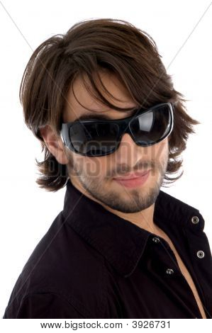 Handsome Model With Sunglasses