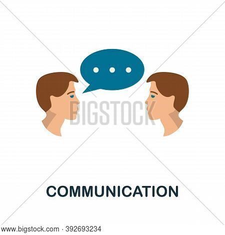 Communication Icon. Simple Element From Creativity Collection. Creative Communication Icon For Web D