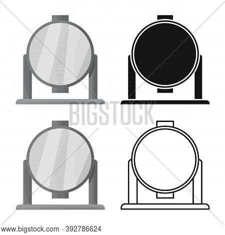 Vector Illustration Of Spotlight And Light Icon. Web Element Of Spotlight And Floodlight Stock Symbo