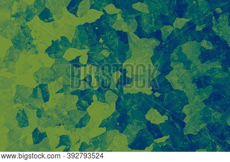 Watercolour Marine Camo. Green Army Textile. Camouflage Uniform. Grunge Soldier Design. Marine Camo.
