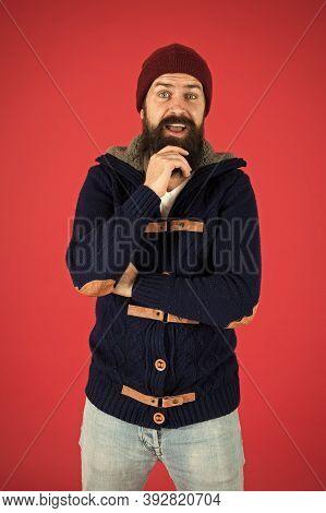 Warm And Comfortable. Fashion Menswear Shop. Masculine Clothes Concept. Winter Menswear. Clothes Des
