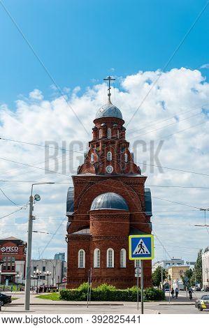 Vladimir, Russia-july 28, 2020: Trinity Church In Vladimir, Russia. The Historic Sights Of Vladimir
