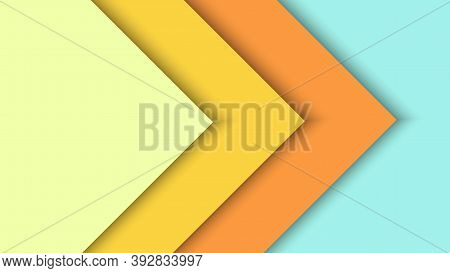 Colorful Flat Lay Paper Sheet Background Vector Illustration Best For Background, Branding And Wallp