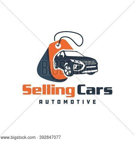 Car Sales Showroom Logo Design Or Brand