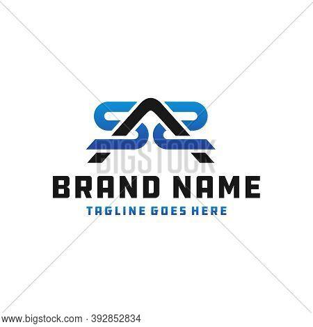 Industrial Business Logo Design Letter Sas Or Brand