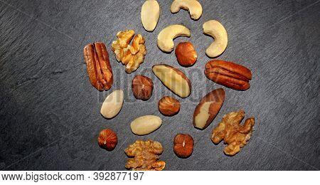 Assorted Mixed Nuts For Your Health - Walnut, Almond, Hazelnut, Pecan, Cashew, Brazil Nuts