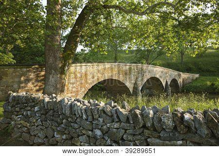 Burnside's Bridge At Antietam (sharpsburg) Battlefield In Maryland