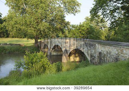 Burnside's Bridge At Antietam (sharpsburg) Battlefield In Maryland Royalty Free Stock Photo    Find