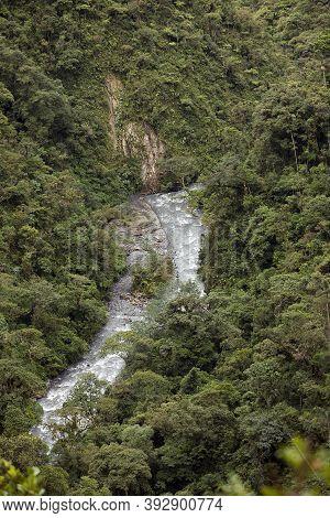 Waterfalls, Manu National Park In Peru Waterfalls, Manu National Park In Peru