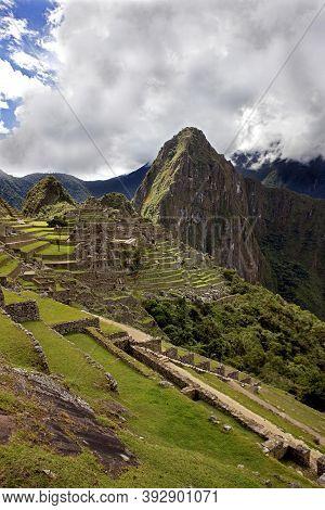 Machu Picchu, The Lost City Of The Incas, Peru