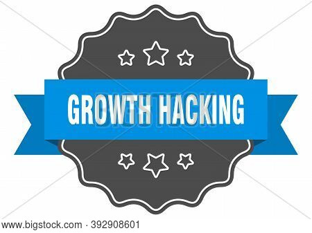 Growth Hacking Label. Growth Hacking Isolated Seal. Sticker. Sign