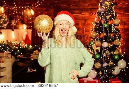 Christmas Decorations. Love To Decorate Everything Around. Sparkling Big Toy. Merry Christmas. Festi