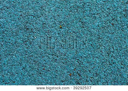 Blue Playground Soft Rubber Surface