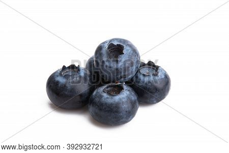 Blueberry Berries Sustenance Isolated On White Background