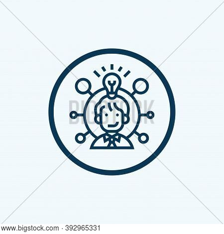 Coordination Icon Isolated On White Background From Event Management Collection. Coordination Icon T
