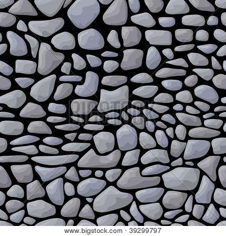 Dark seamless stone pattern
