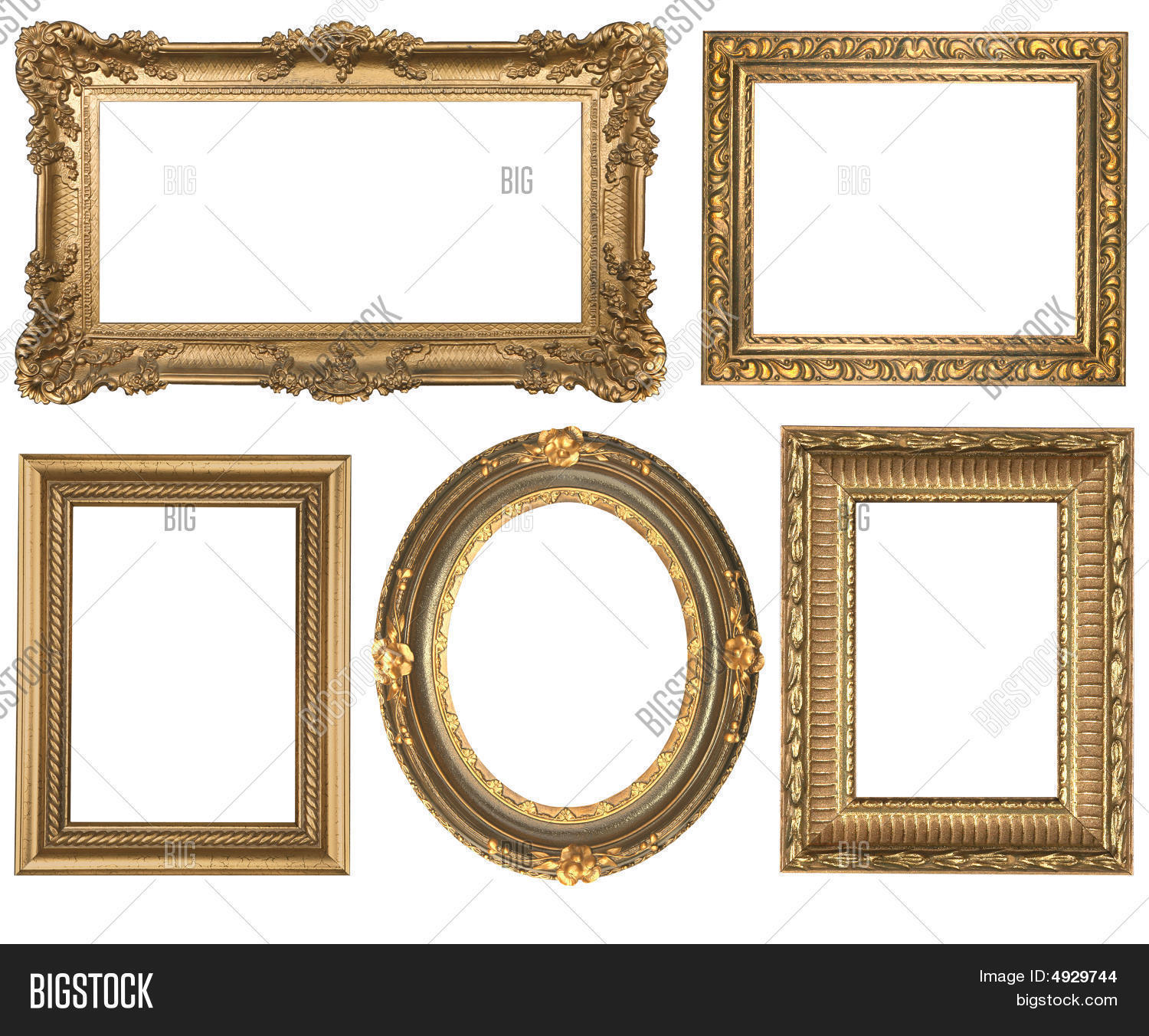Vintage Detailed Gold Image & Photo (Free Trial) | Bigstock