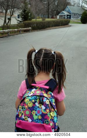 Off To The Bus Stop