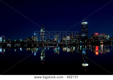 Boston Skyline 1