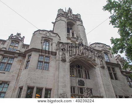 Supreme Court London