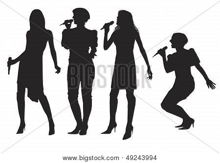Girls With Microphone