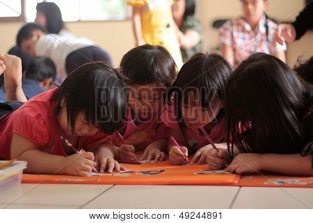 Children Drawing Activity