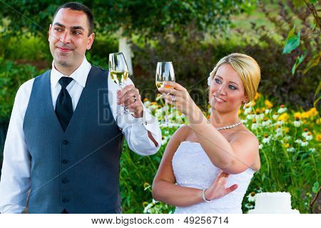 Bride And Groom Wedding Toasts