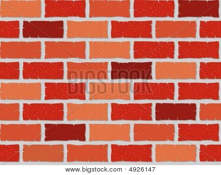 Seamless Brick Wall Illustration