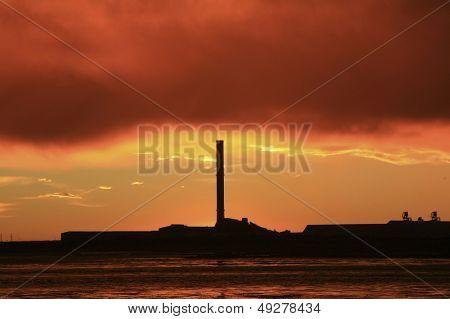 Bluff At Sunrise