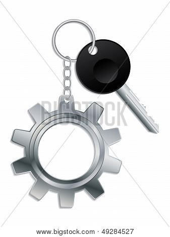 Cogwheel Keyholder