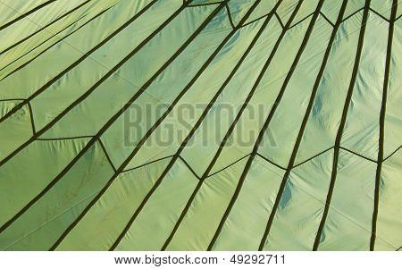 Green Parachute Tent