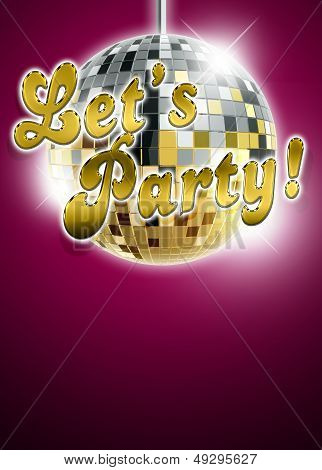 Let's Party Background