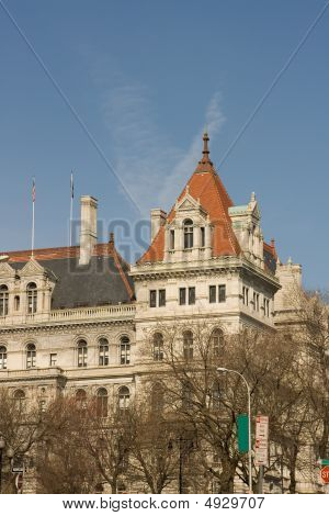North East Corner Of Nys Capital Building