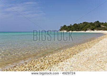 Beach at Chalkidiki, Greece