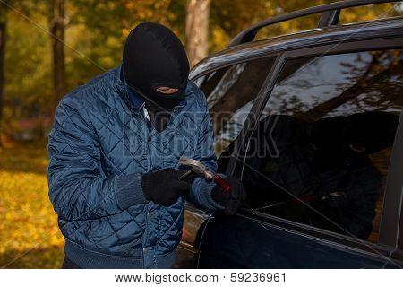Masked Car Criminal