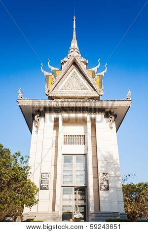 The Killing Fields Of Choeung Ek In Phnom Penh, Cambodia