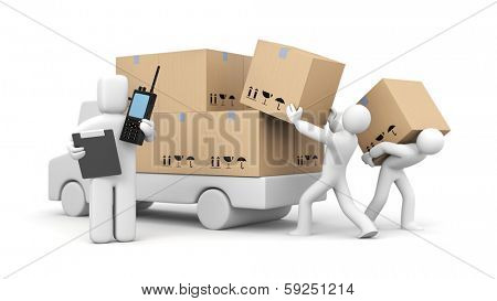 Management process of loading