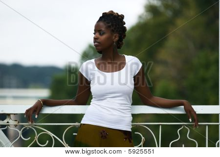 Relaxing On The Bridge