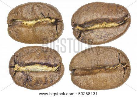 Macro Coffe Beans