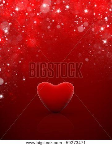 Heart Valentine day's - Coeur de saint valentin carte étoile
