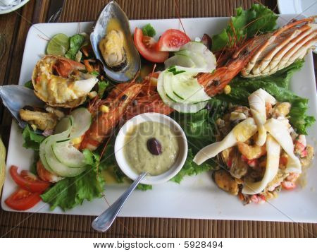 Well Decorated Seafood