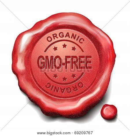 Gmo Free Red Wax Seal