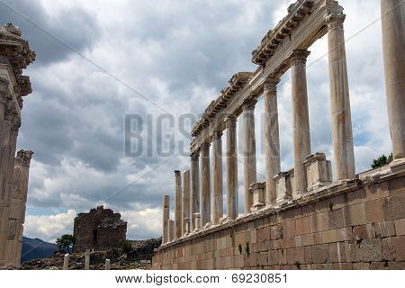 Trajaneum Of The Acropolis