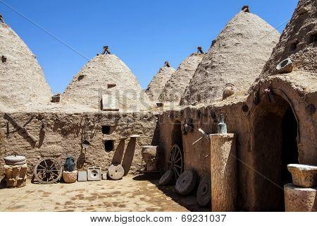 Traditional Beehive Mud Brick Houses