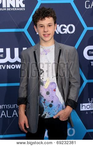 LOS ANGELES - JUL 27:  Nolan Gould at the 2014 Young Hollywood Awards  at the Wiltern Theater on July 27, 2014 in Los Angeles, CA