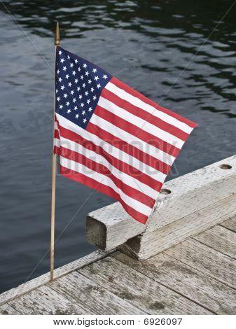 Flag, Stars and stripes.