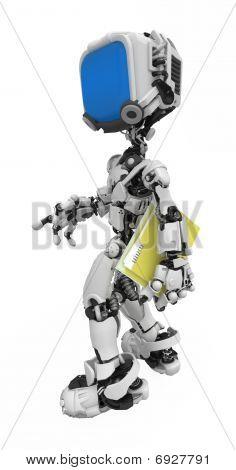 Blue Screen Robot, Folder